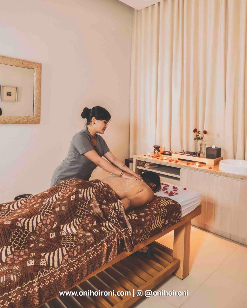 5 SPA The Stones Hotel Bali Legian oni hoironi