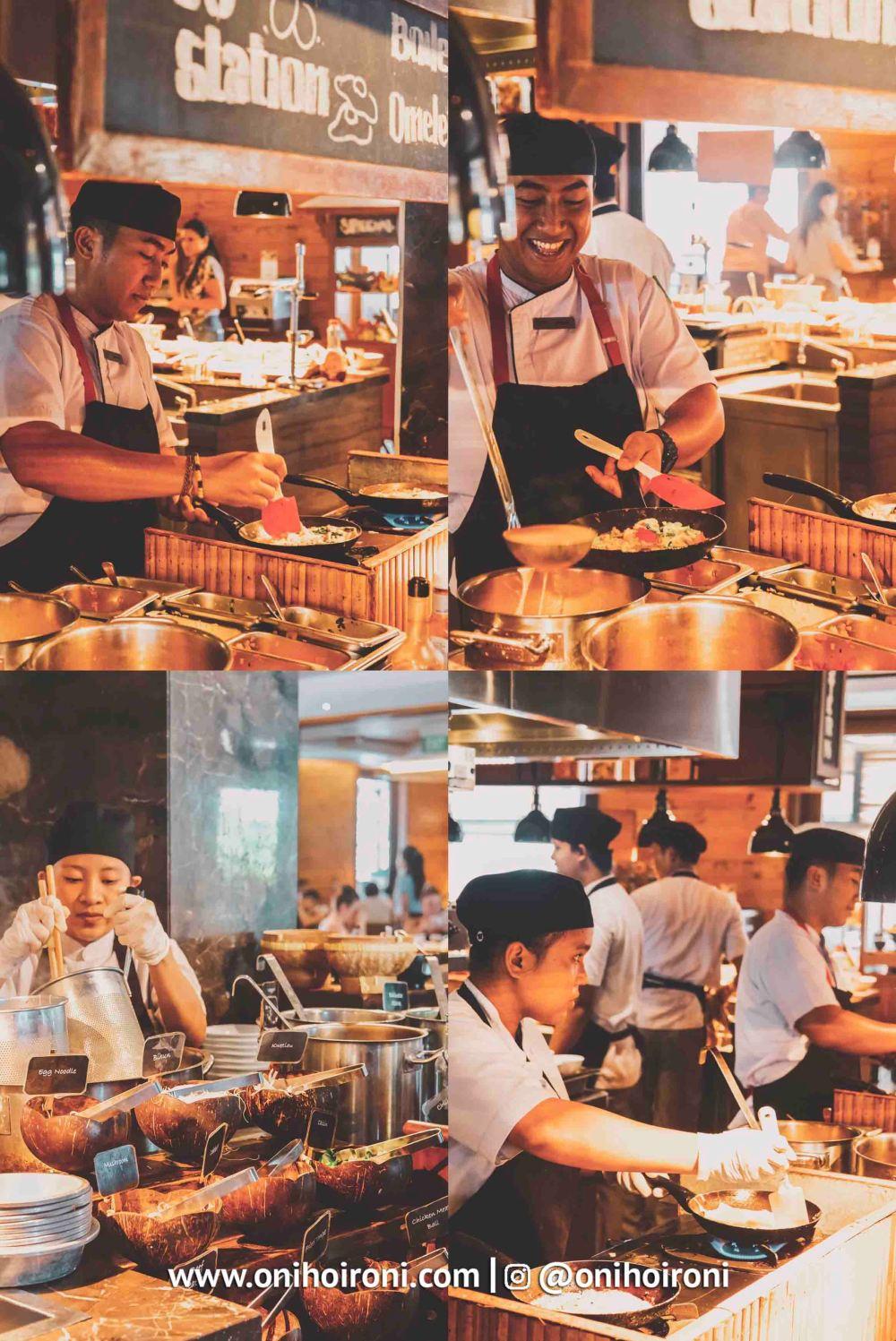 6 Breakfast Courtyard Seminyak Bali