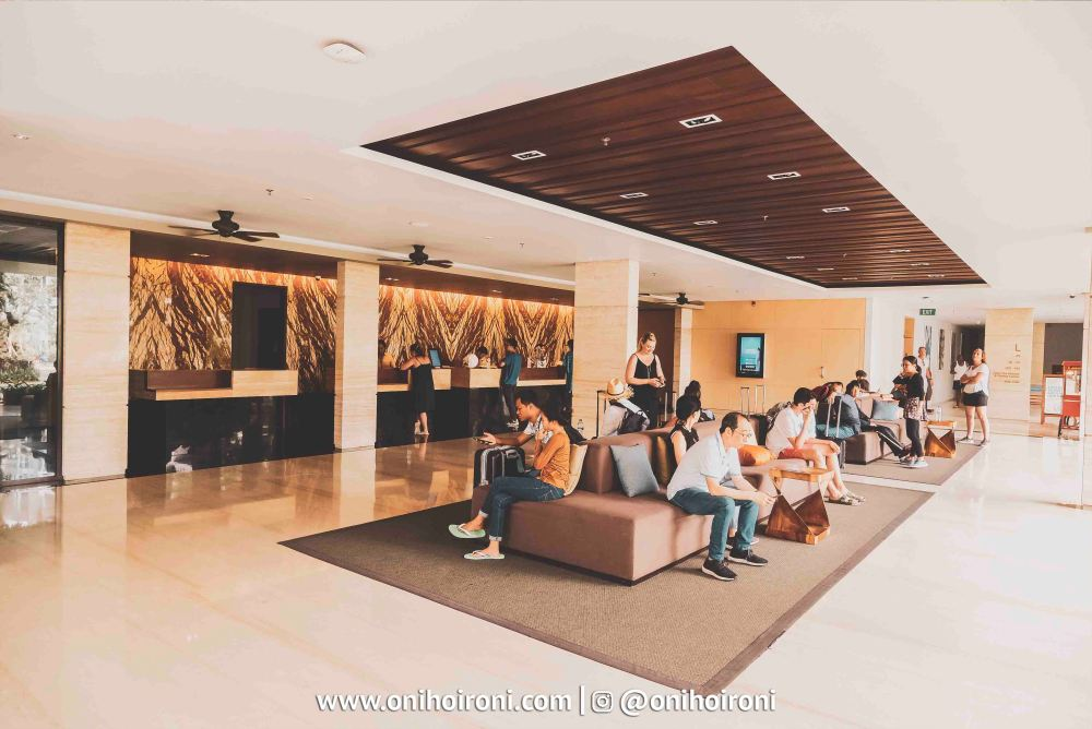 Lobby Courtyard Seminyak Bali 10