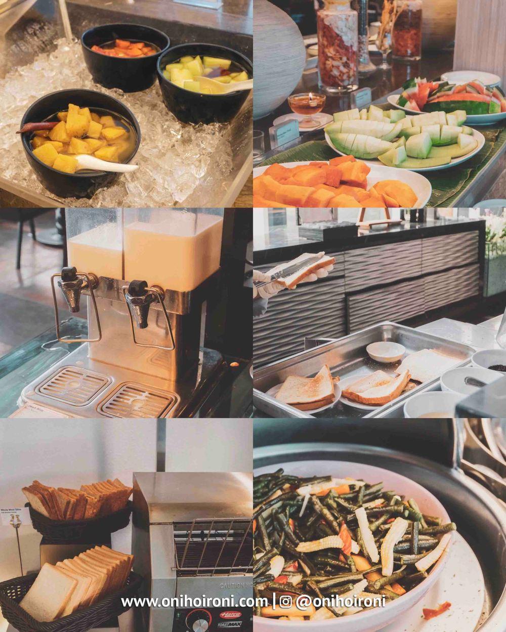 1 Breakfast Holiday Inn Bandung Pasteur Oni hoironi