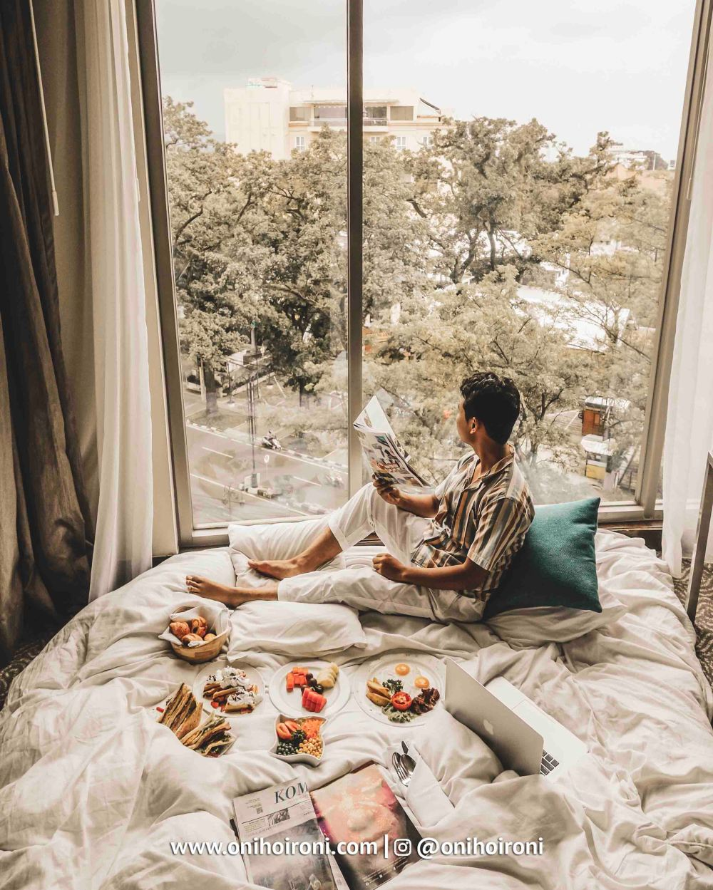 1 Breakfast in bed courtyard bandung oni hoironi
