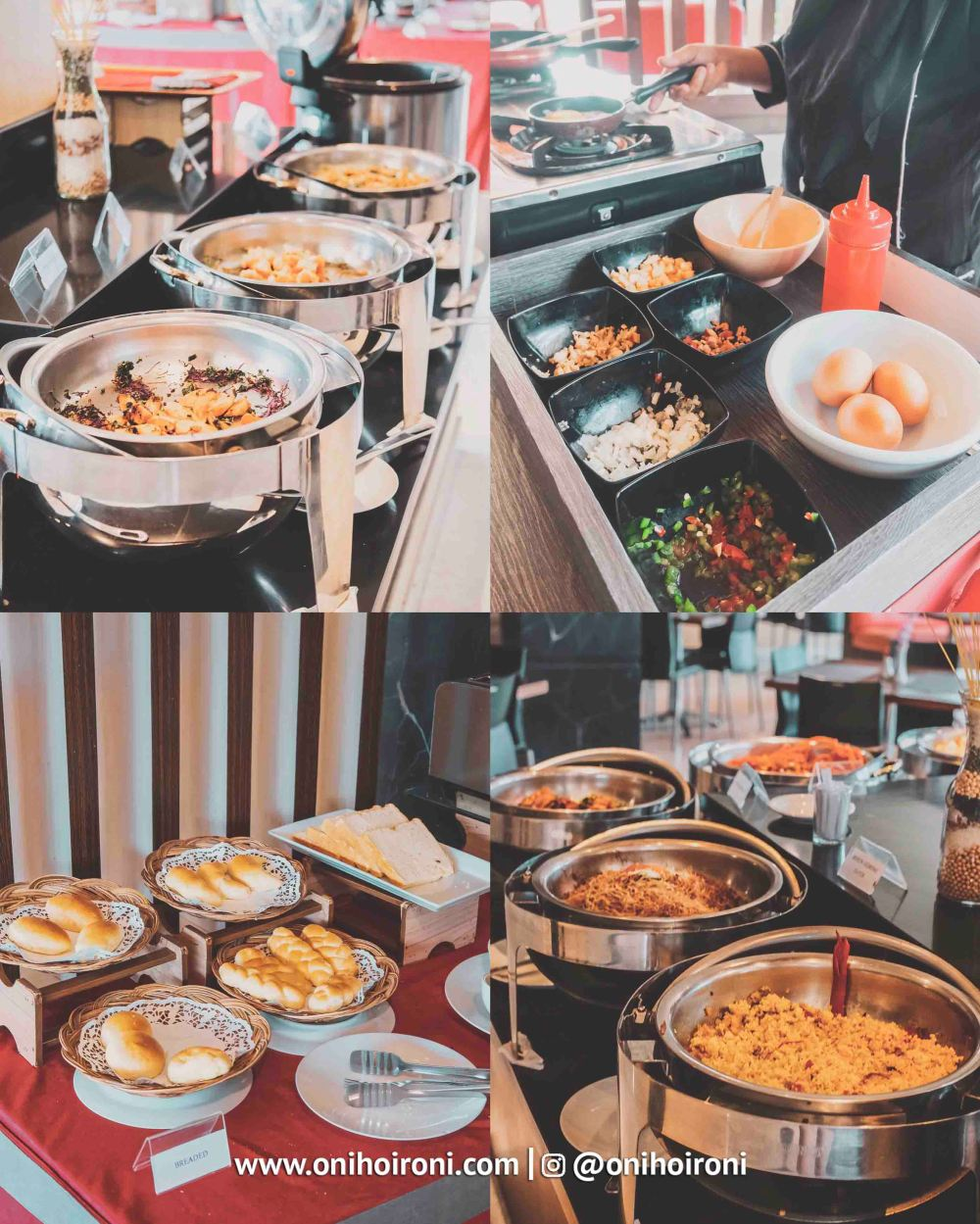 1 Breakfast M One Hotel Sentul Bogor, Onihoironi