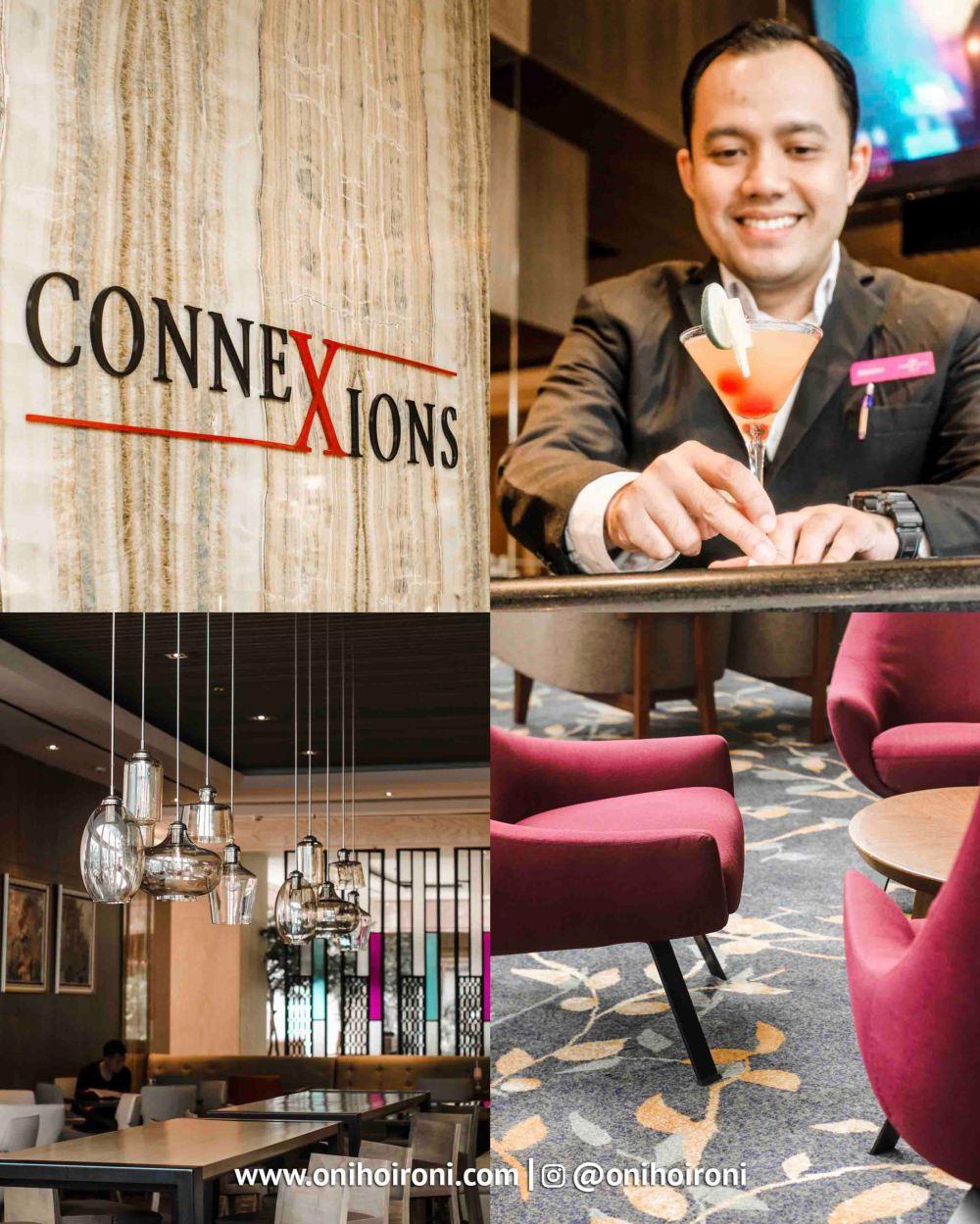 1 Connextion Lobby Lounge Crowne Plaza Bandung Oni Hoironi