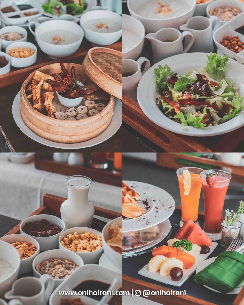 1 Room Breakfast Crowne Plaza Bandung Oni Hoironi
