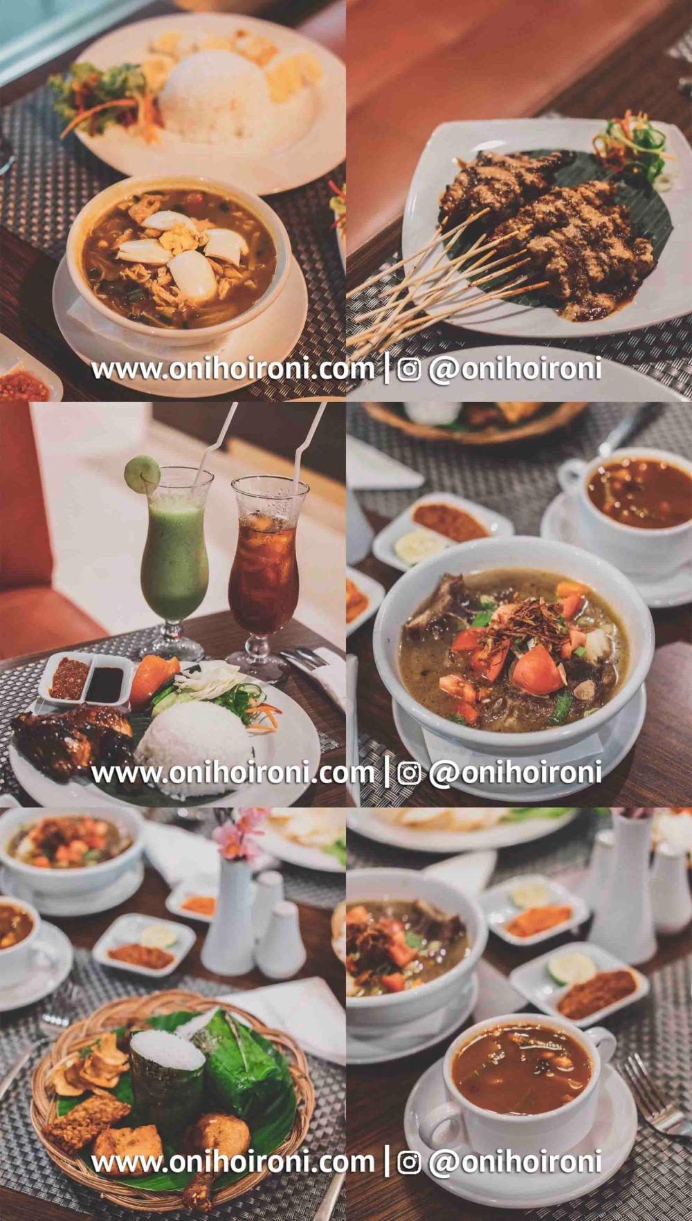 11 Food M One Hotel Sentul Bogor, Onihoironi