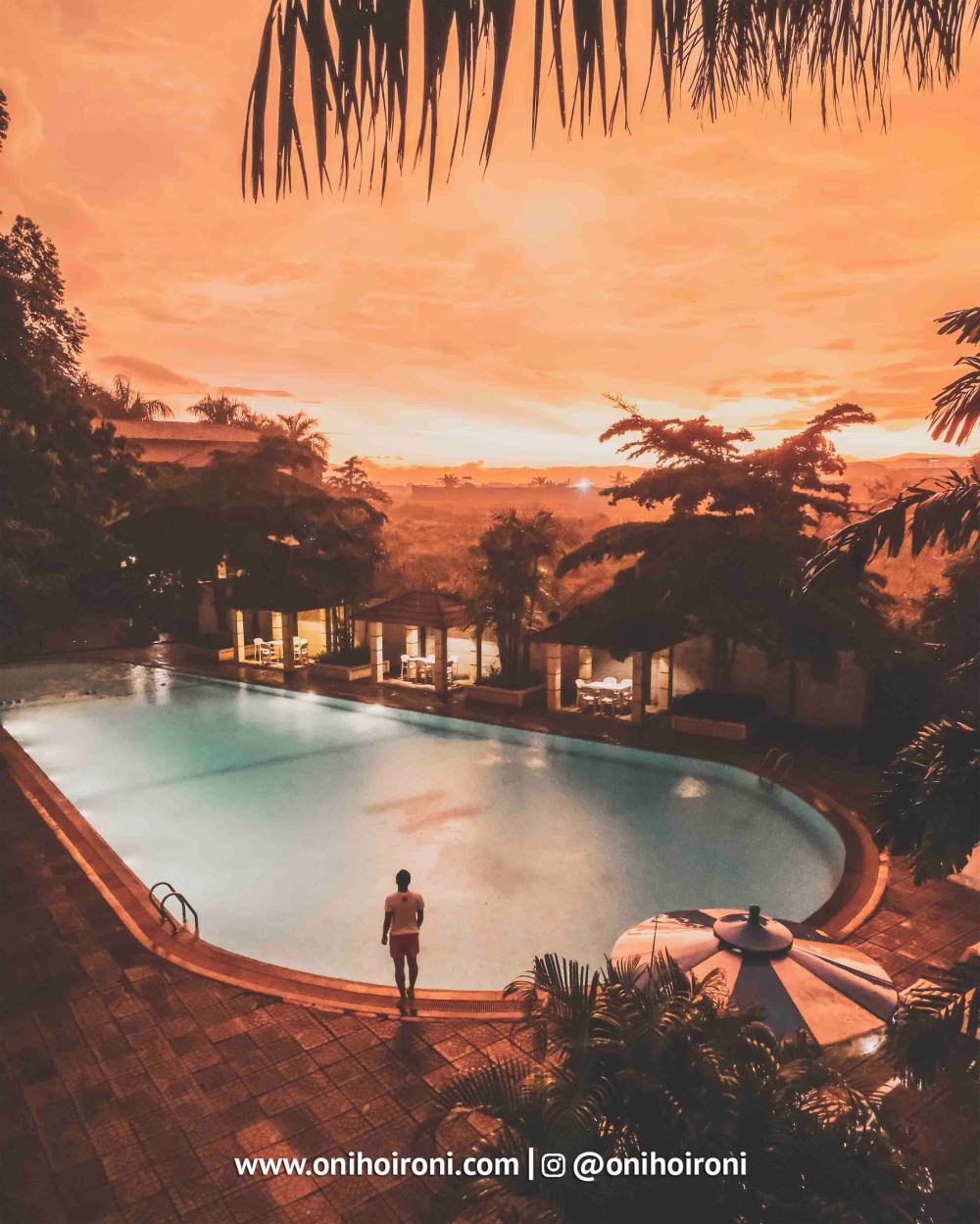 12 Swimming Pool M One Hotel Sentul Bogor, Onihoironi