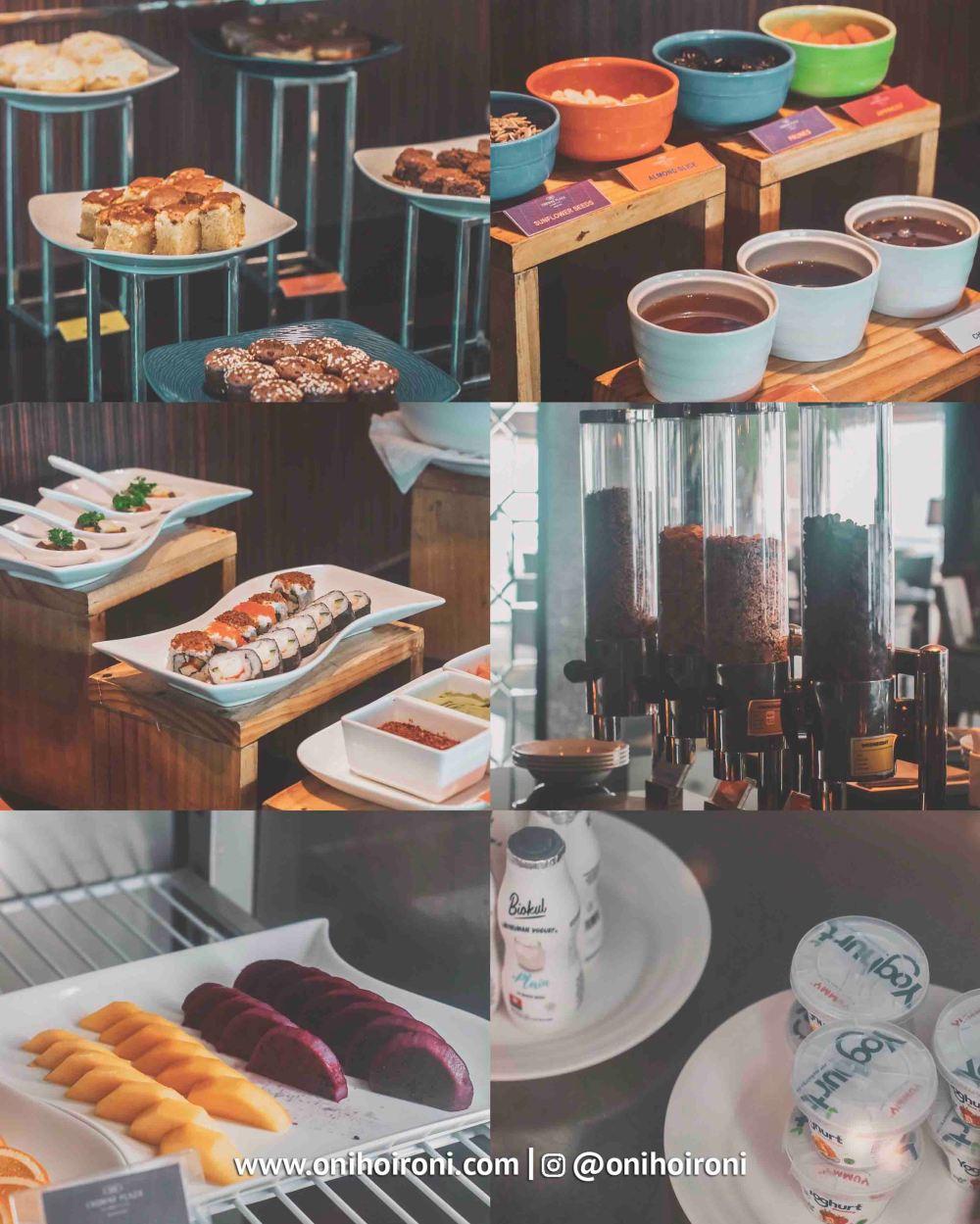 2 Breakfast Executive Lounge Crowne Plaza Bandung Oni Hoironi
