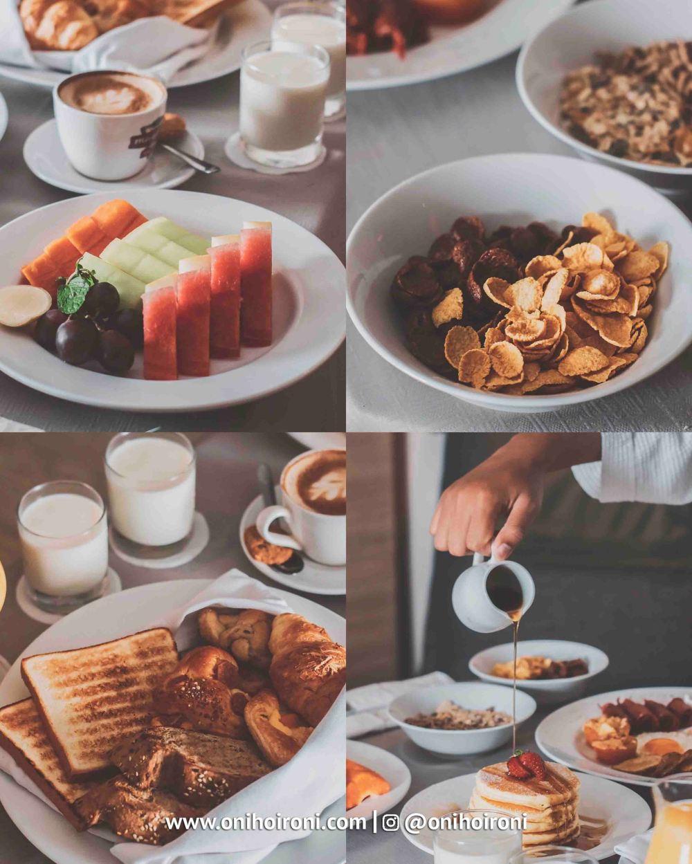 2 Breakfast Holiday Inn Pasteur Bandung Oni Hoironi copy