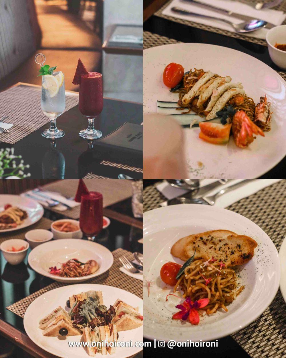 2 Food Mosaic all day dining Crowne Plaza Bandung Oni Hoironi