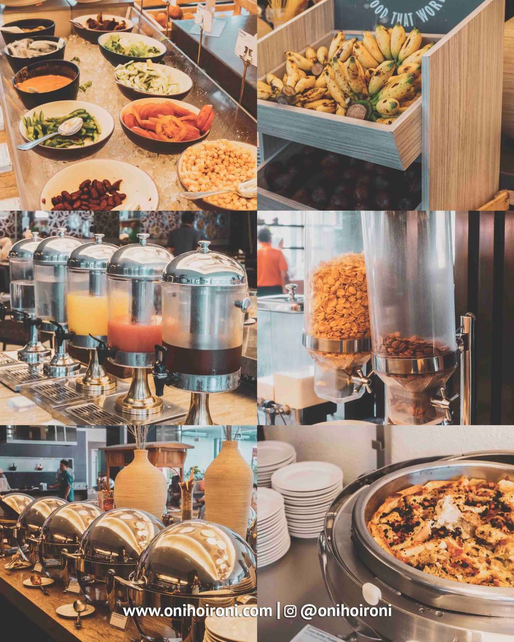 3 Breakfast Holiday Inn Bandung Pasteur Oni hoironi