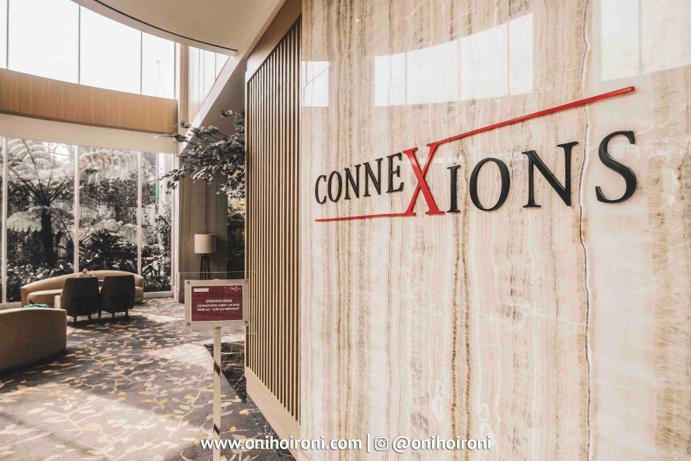 3 Connextion Lobby Lounge Crowne Plaza Bandung Oni Hoironi