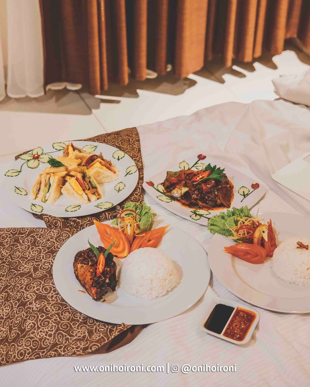 6 Food M One Hotel Sentul Bogor, Onihoironi
