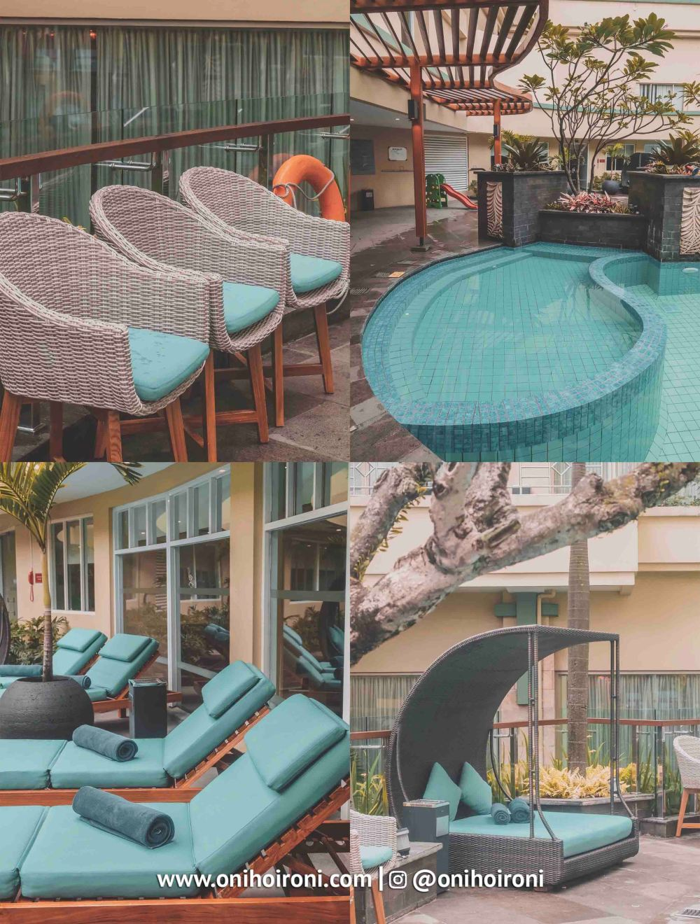 7 Swimming Pool Courtyard Bandung