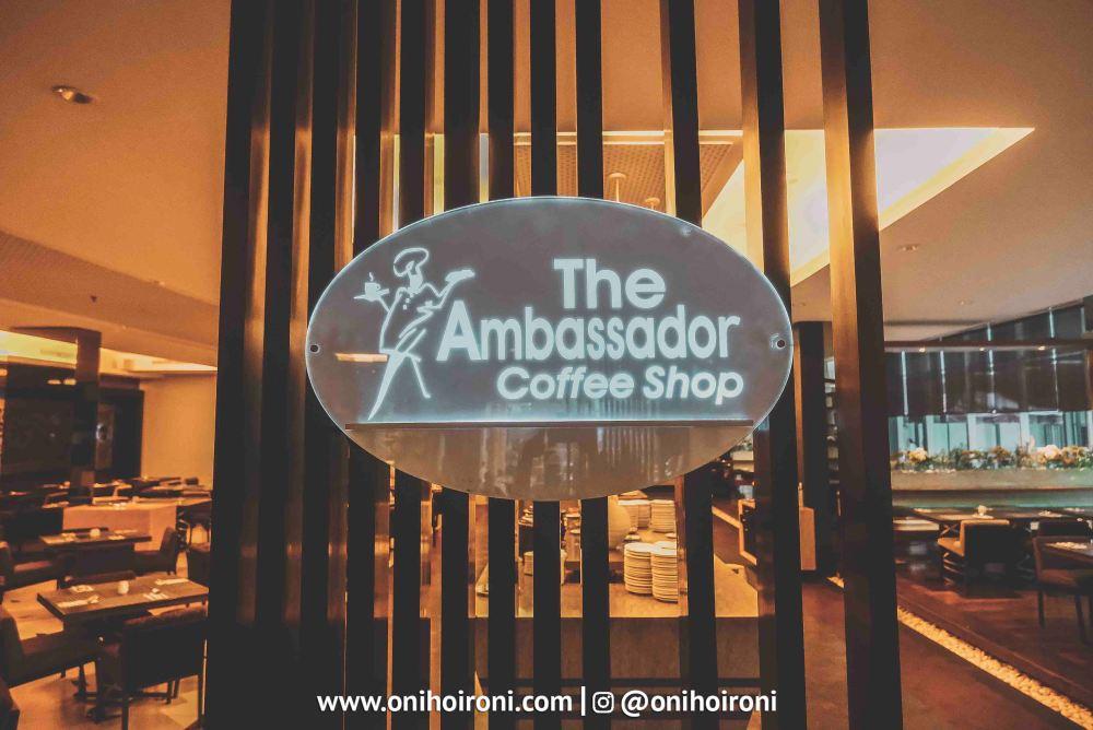 7The Ambassador Restaurant Holiday Inn Pasteur Oni Hoironi