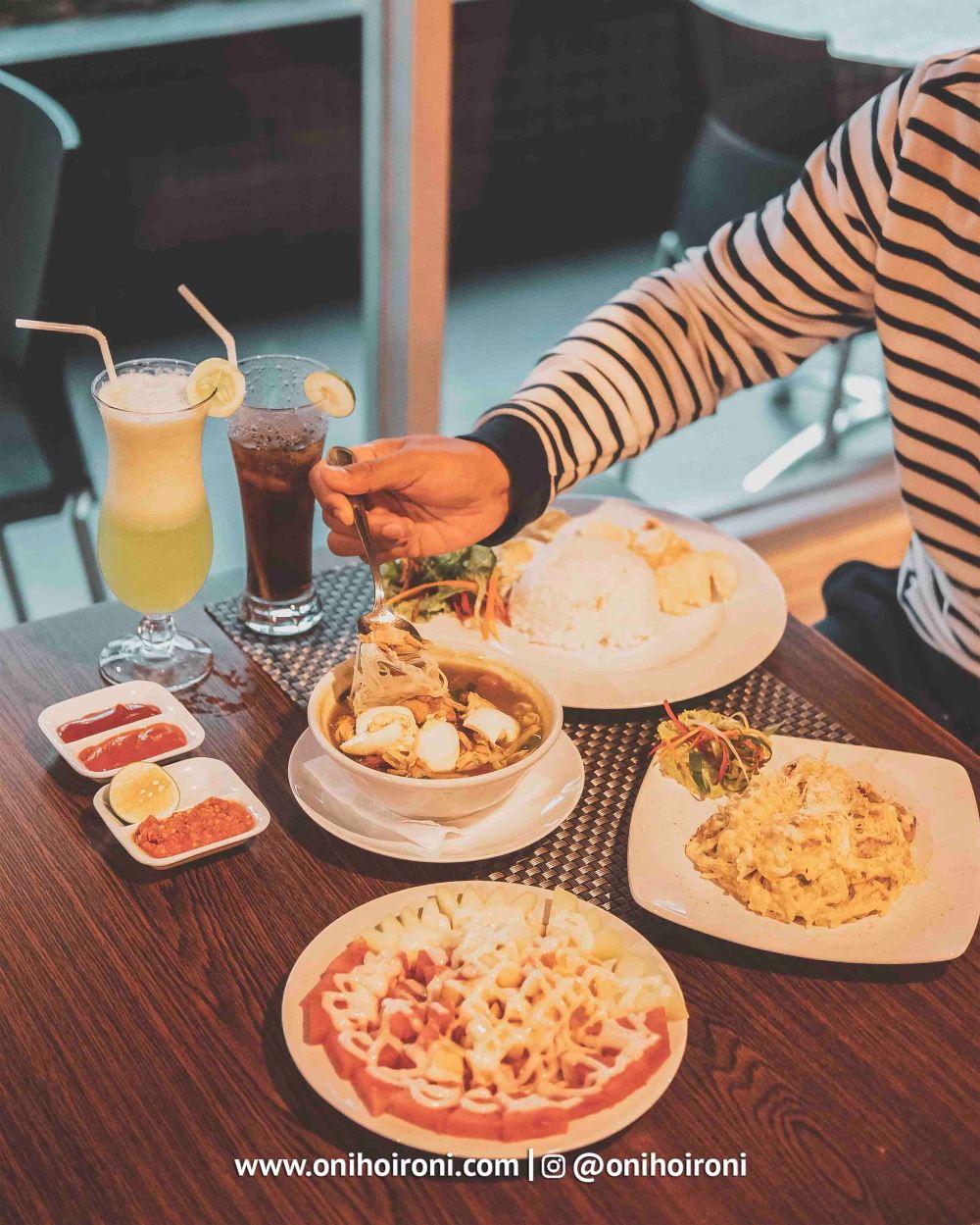 9 Food M One Hotel Sentul Bogor, Onihoironi