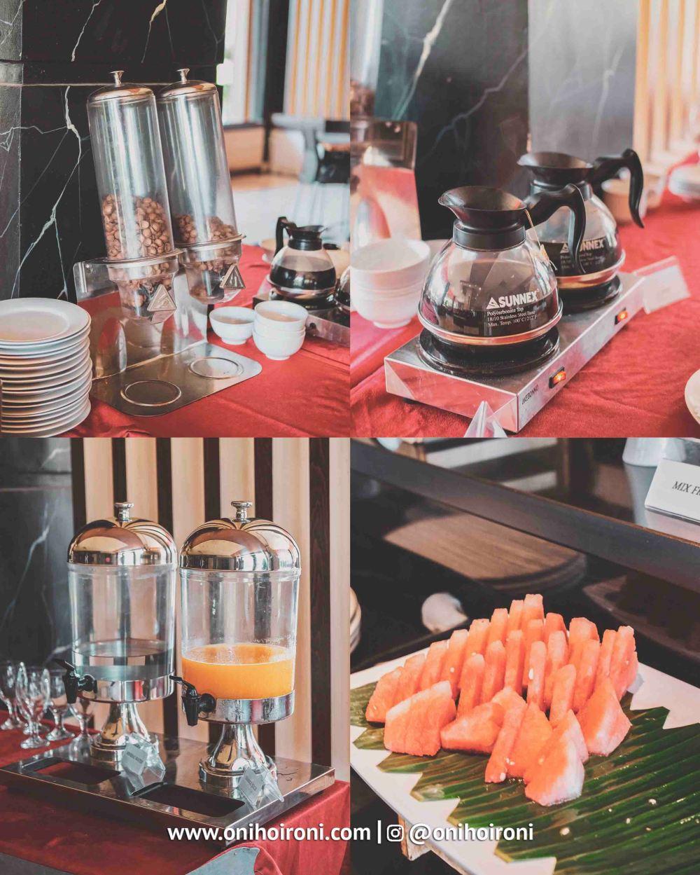 Breakfast M One Hotel Sentul Bogor, Onihoironi