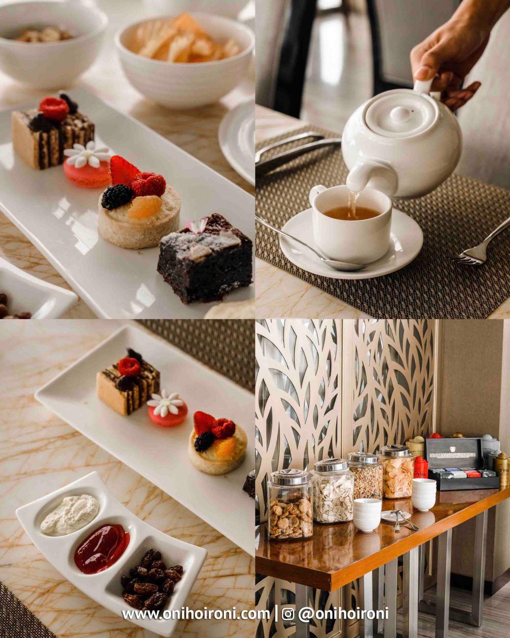 1 Afternoon tea Executive Lounge Intercontinental Bandung Oni Hoironi