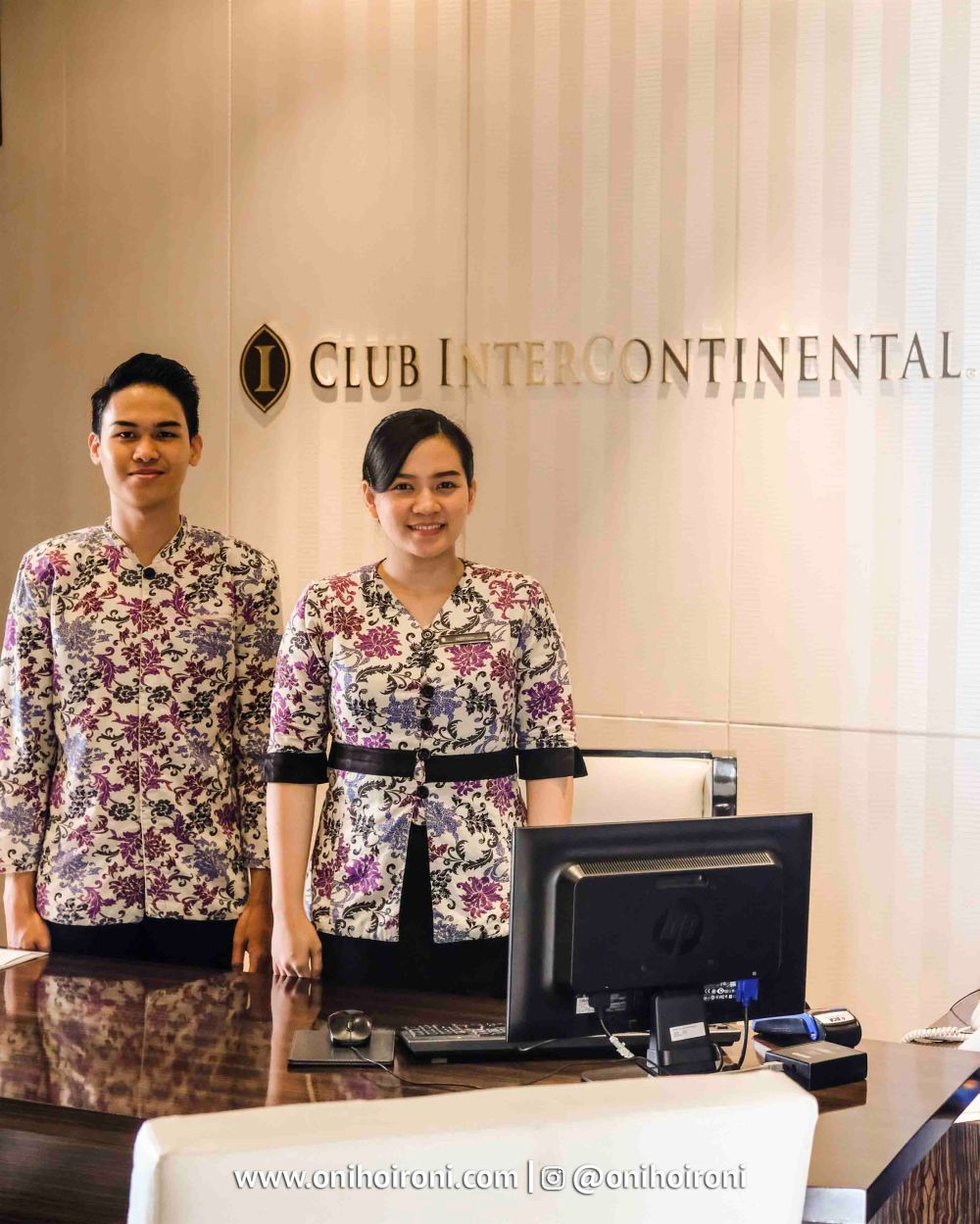 1 Executive Lounge Intercontinental Bandung Oni Hoironi