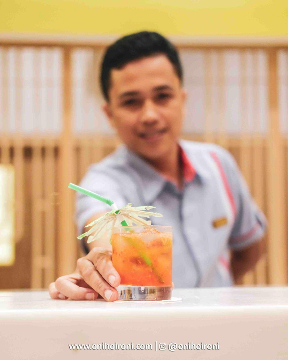1 Lime Restaurant Fave Hotel palembang Oni Hoironi