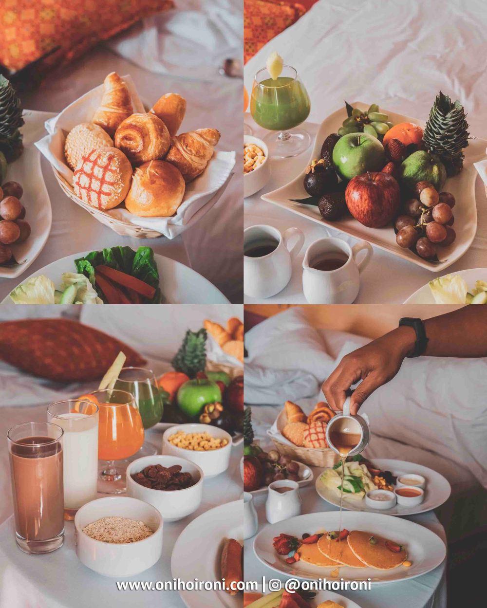 2 Breakfast in bed Aston palembang Oni Hoironi