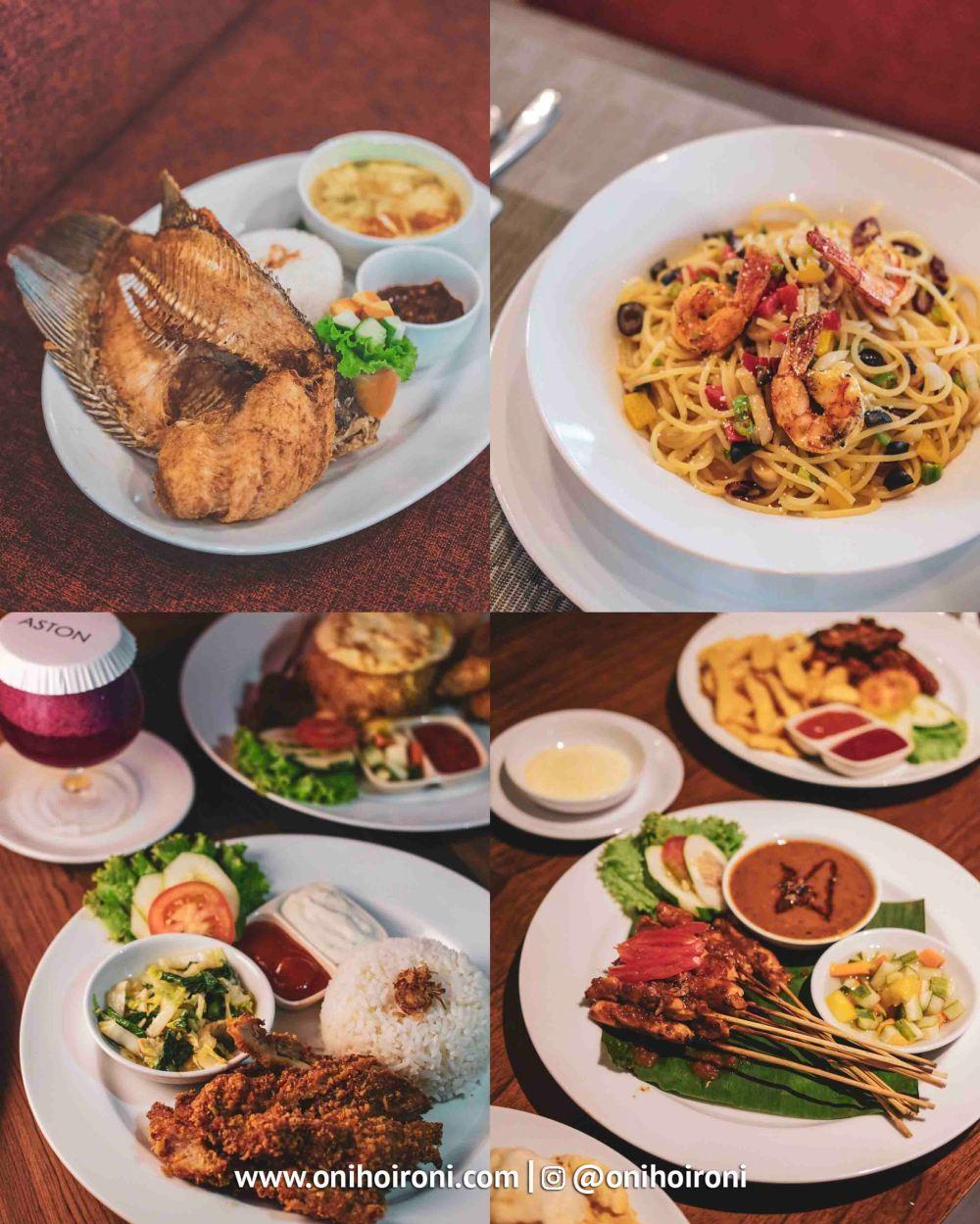 2 Food Belido Restaurant Aston Palembang Oni Hoironi