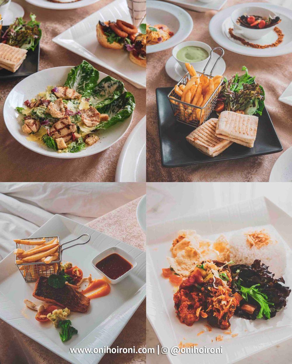 2 Food DAMAI RESTAURANT Intercontinental Bandung Dago