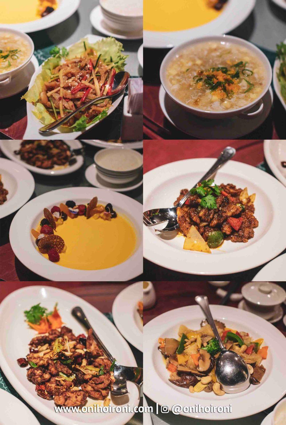 2 Food Tian Jing Lou Intercontinental Bandung Oni Hoironi