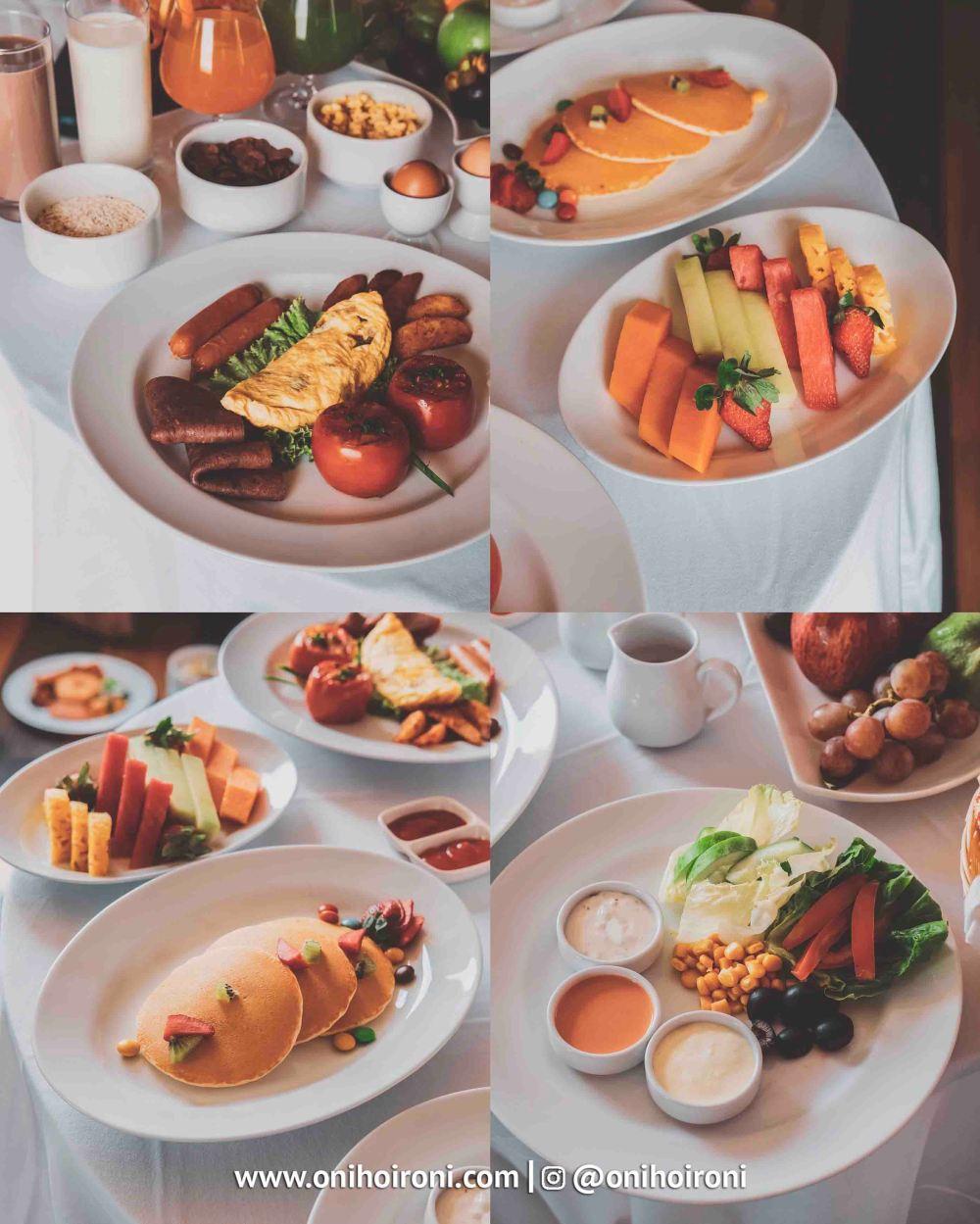 3 Breakfast in bed Aston palembang Oni Hoironi