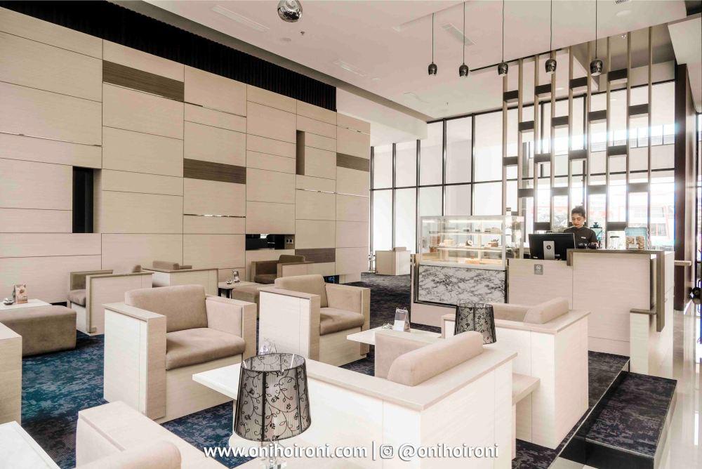 3 D'Harper Lounge Restaurant Harper Hotel Palembang