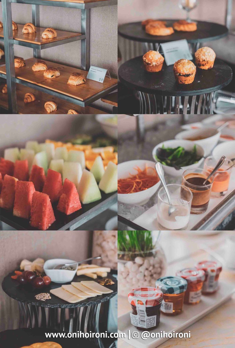 Breakfast Executive Lounge Intercontinental Bandung Oni Hoironi
