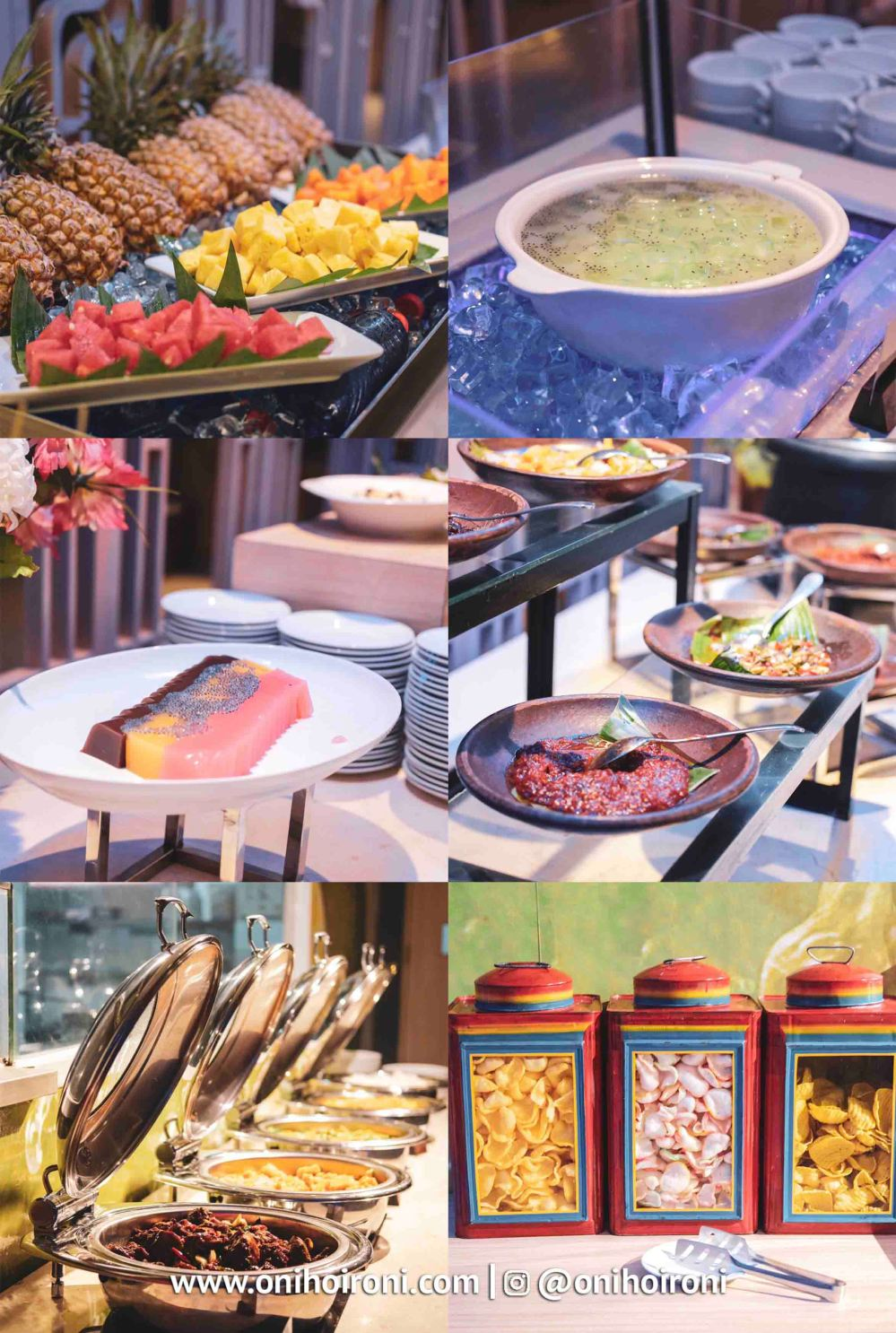 Buffet Lime Restaurant Fave Hotel palembang Oni Hoironi