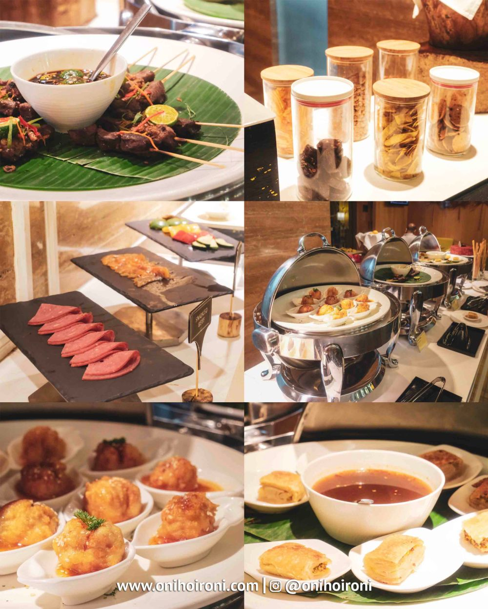 1 evening coktail Executive Lounge Holiday inn kemayoran jakarta oni hoironi