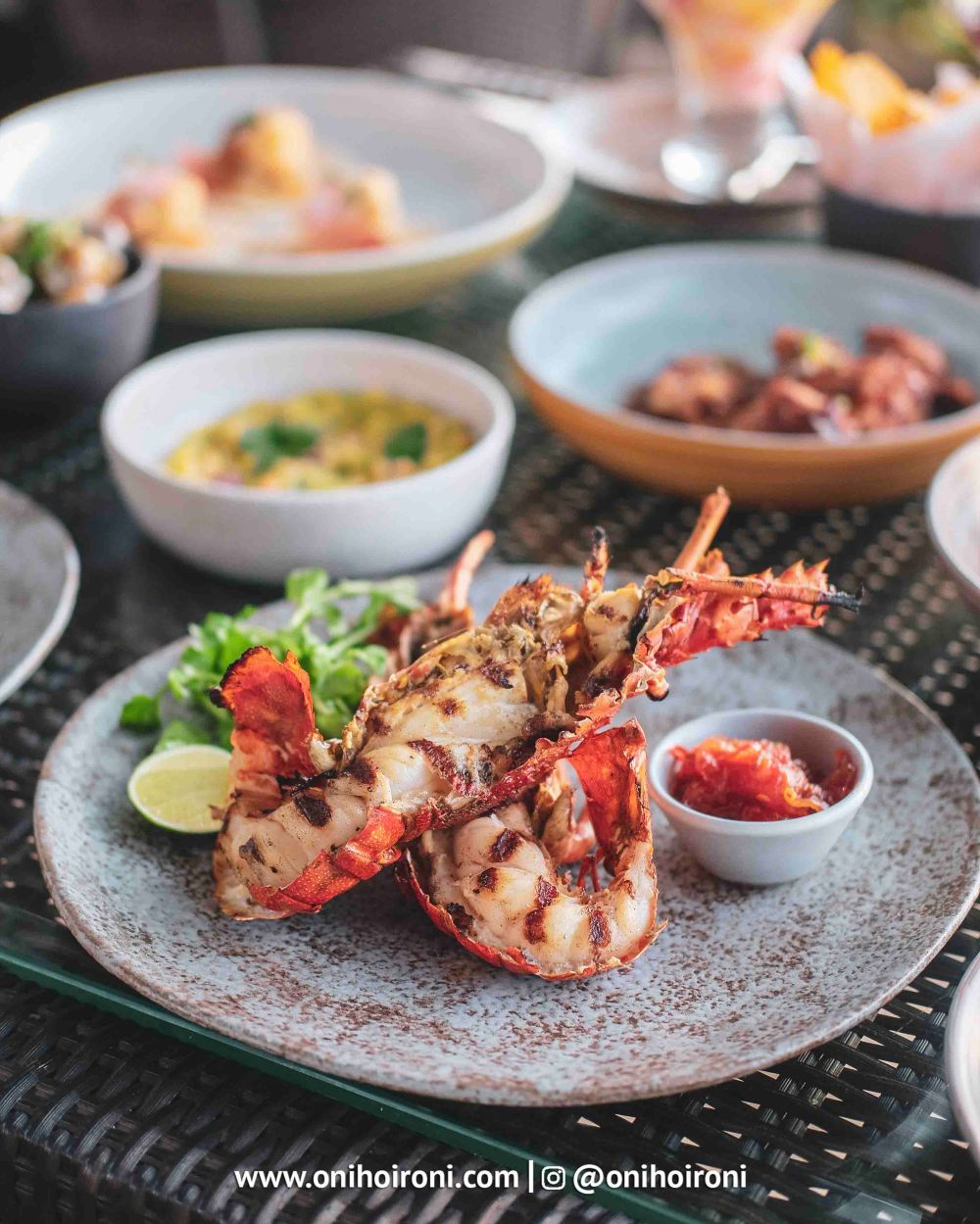 1 food makanan Sunset beach bar and grill intercontinental bali resort oni hoironi restaurant di jimbaran