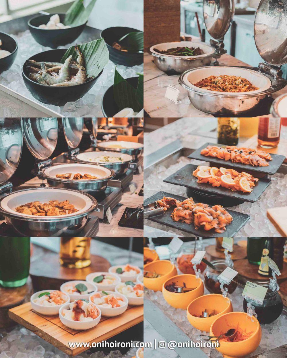 11 Brunch, makanan dari holiday inn kemayoran jakarta oni hoironi
