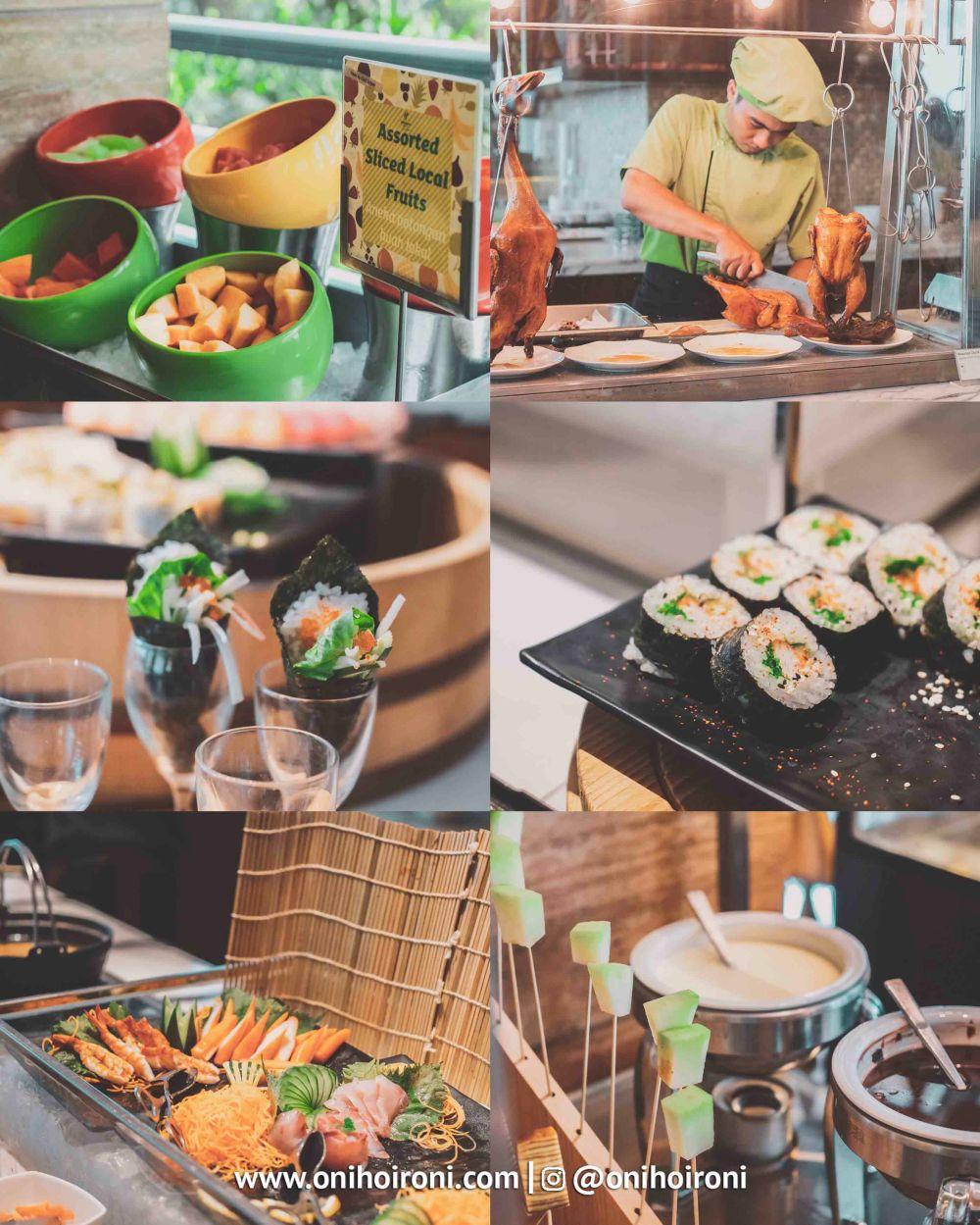3 Brunch, makanan dari holiday inn kemayoran jakarta oni hoironi