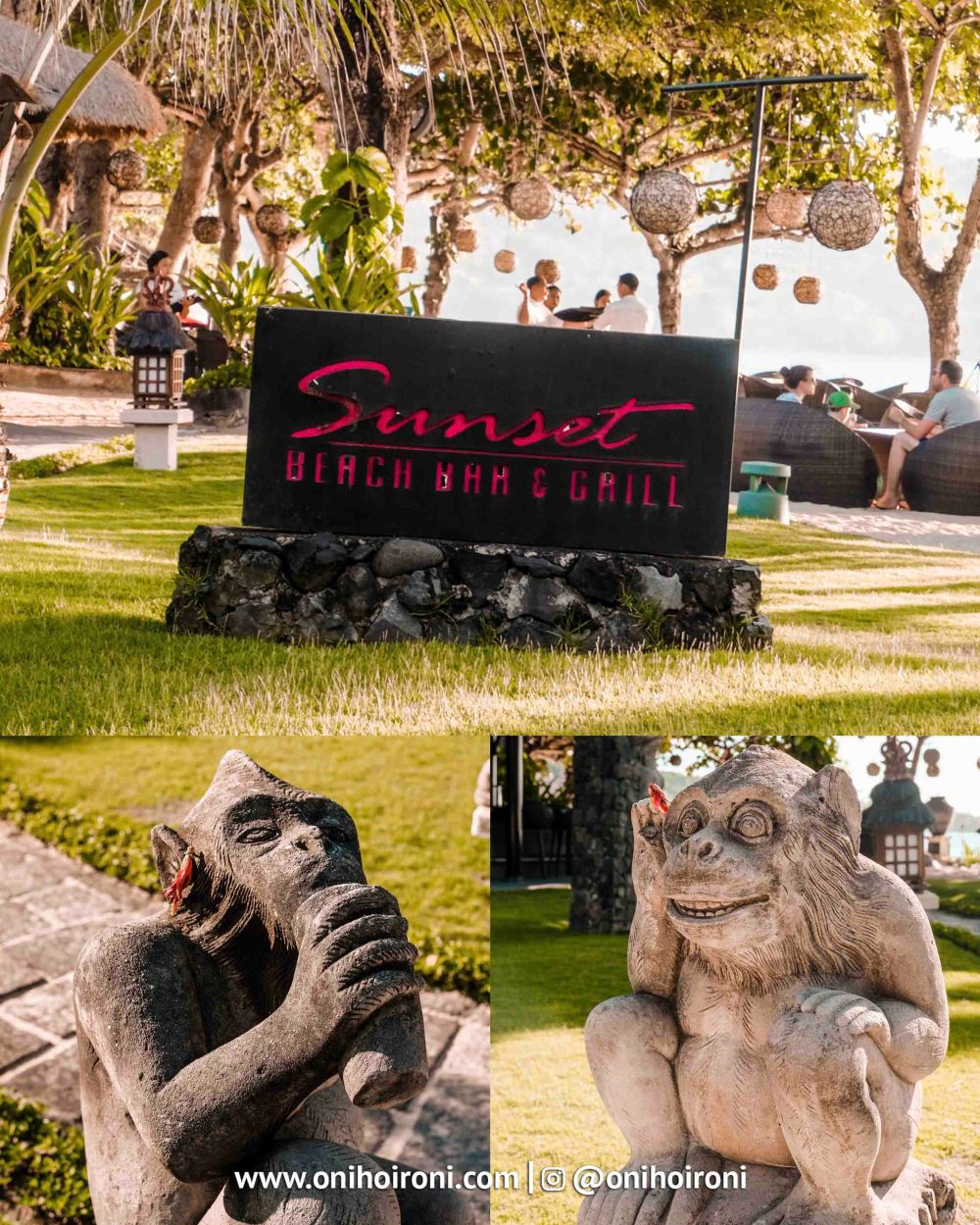 8 Sunset beach bar and grill intercontinental bali resort oni hoironi restaurant di jimbaran copy