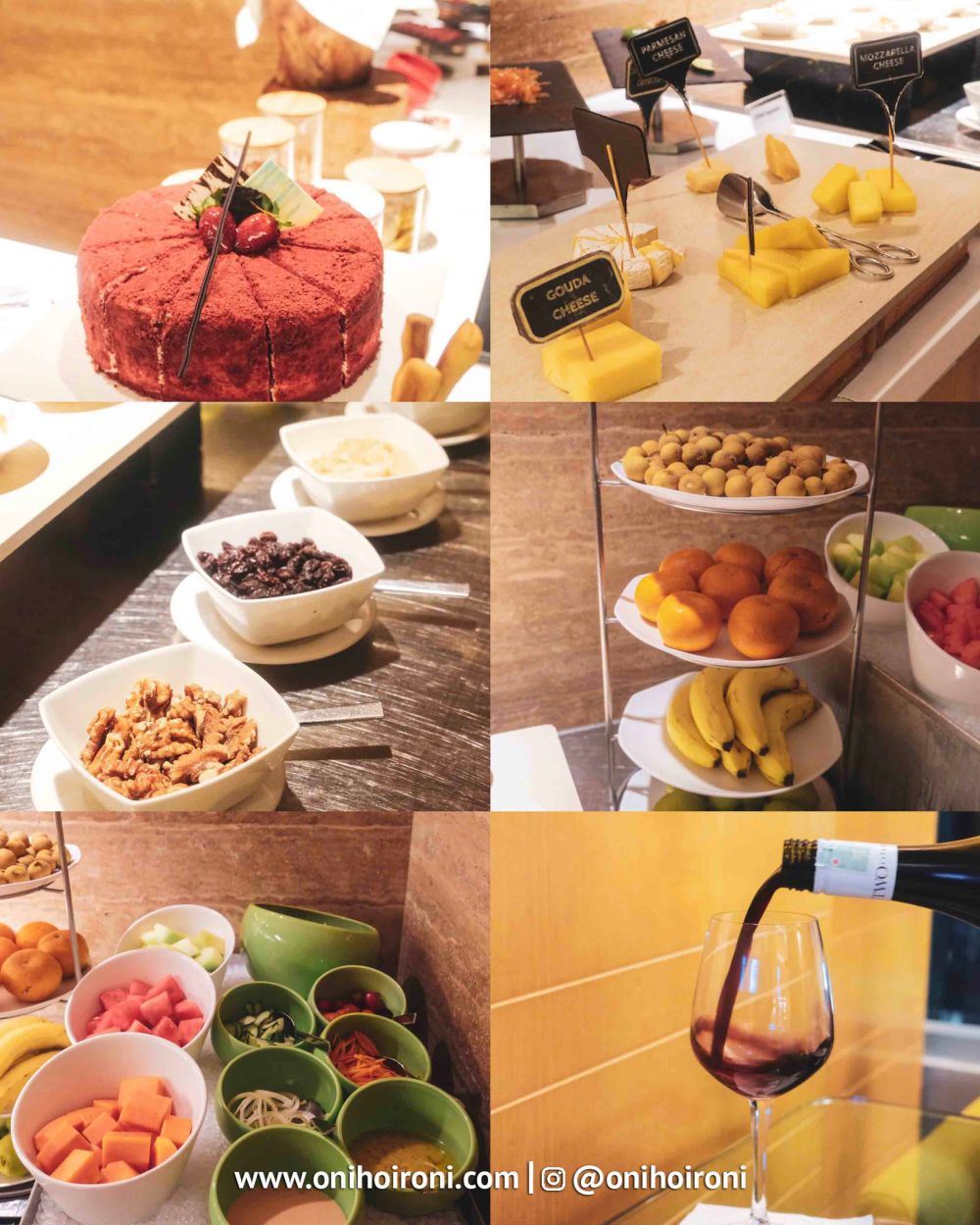 evening coktail Executive Lounge Holiday inn kemayoran jakarta oni hoironi