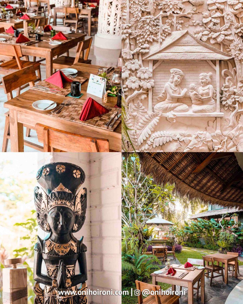 1 Sungai Restaurant Sthala Ubud Bali Oni Hoironi