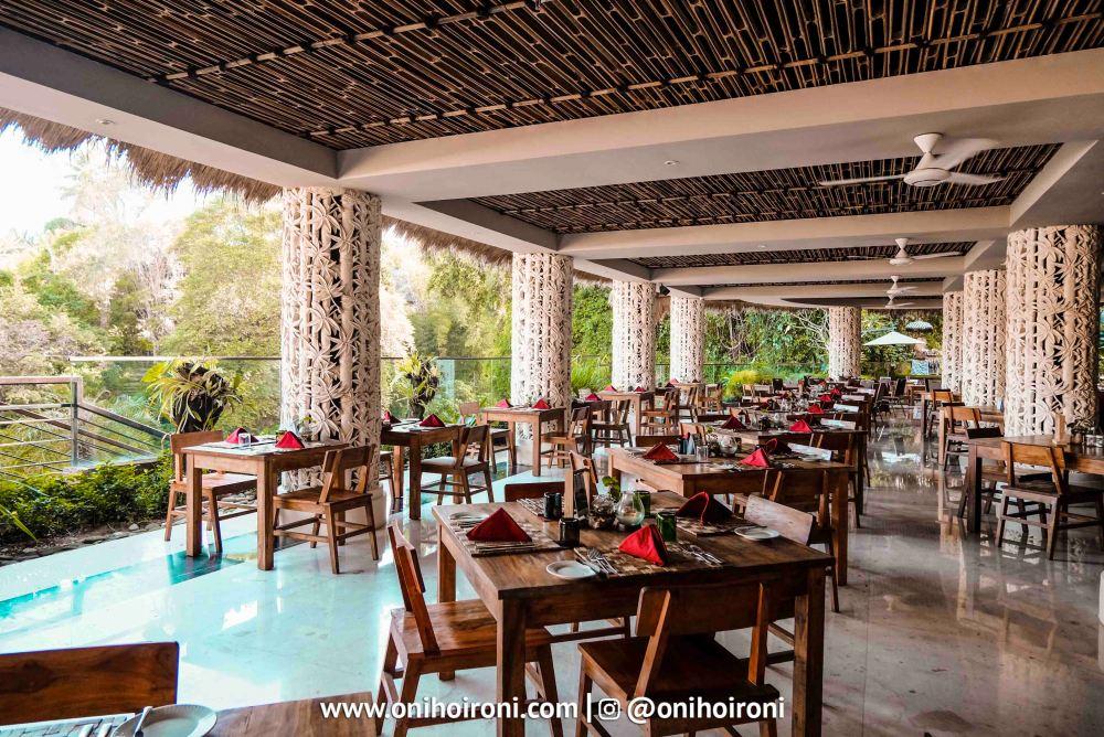 2 2 Sungai Restaurant Sthala Ubud Bali Oni Hoironi