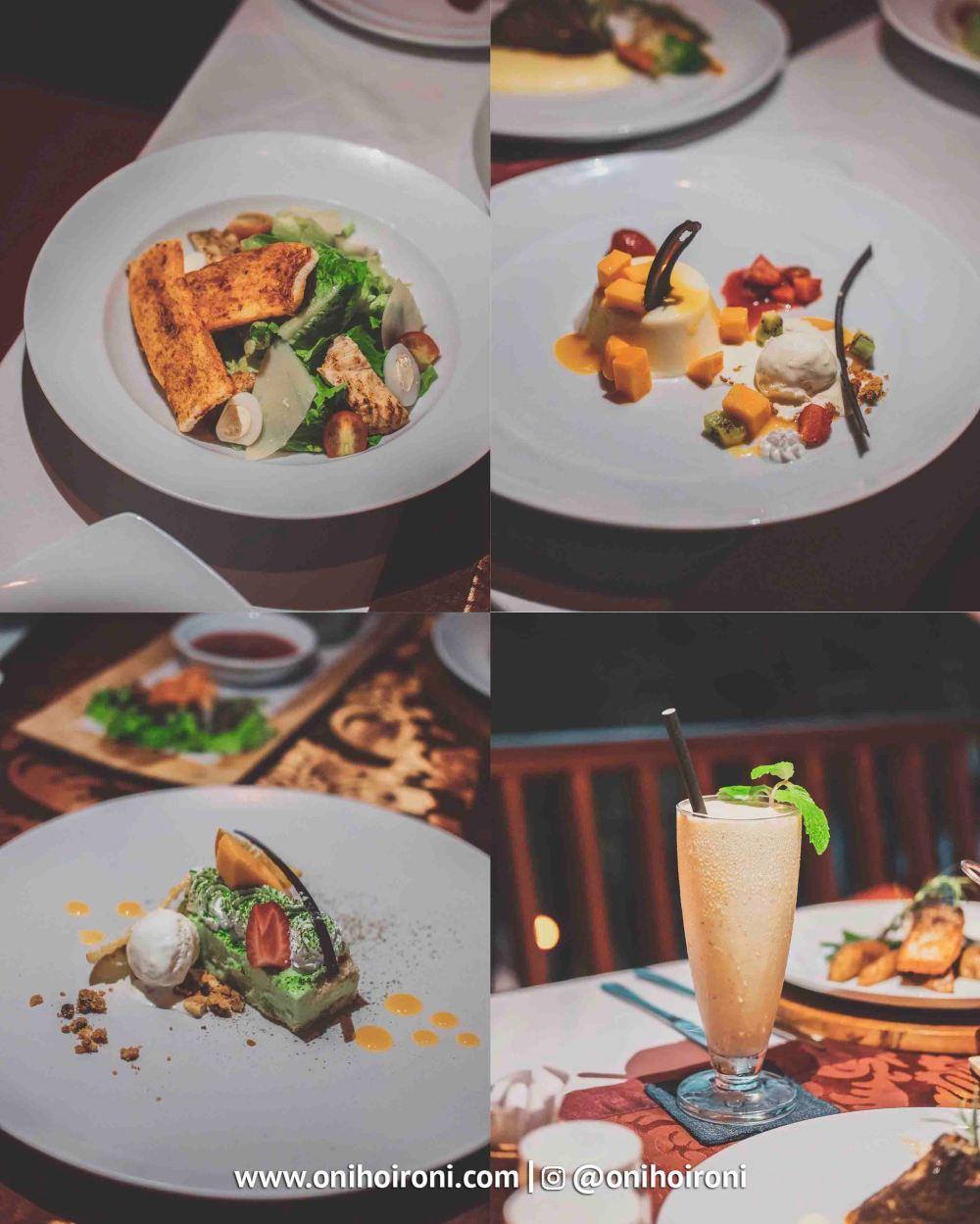 2 food Sungai Restaurant Sthala Ubud Bali Oni Hoironi