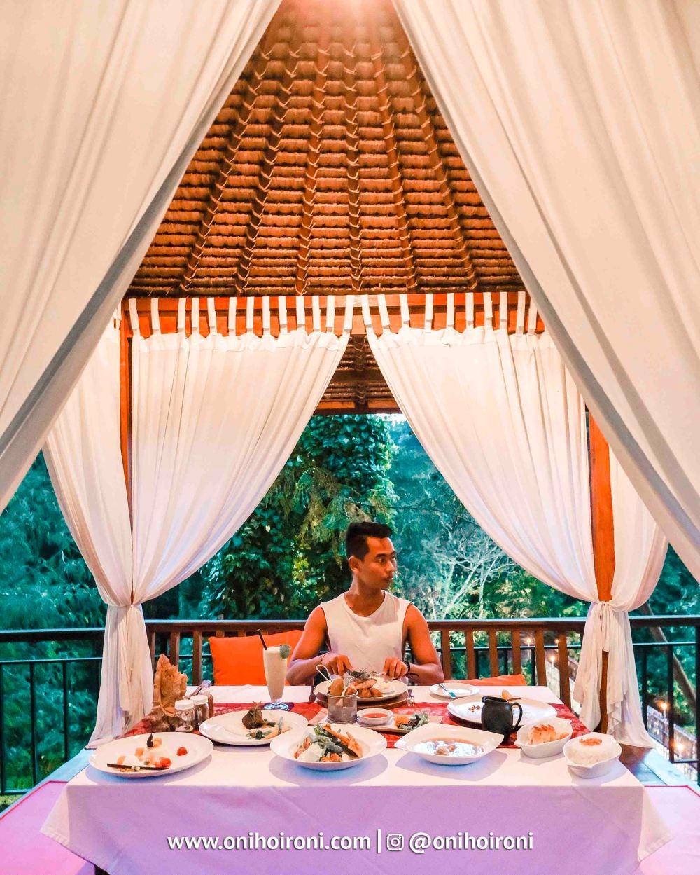 2 Sungai Restaurant Sthala Ubud Bali Oni Hoironi