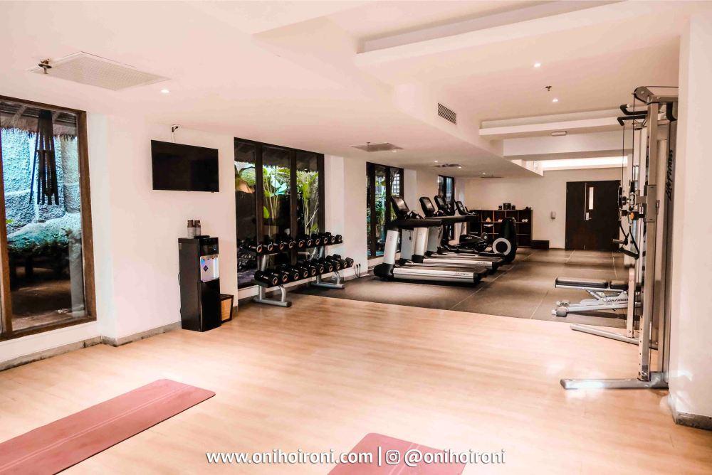 4 Fitness center Sthala Ubud Bali Oni Hoironi