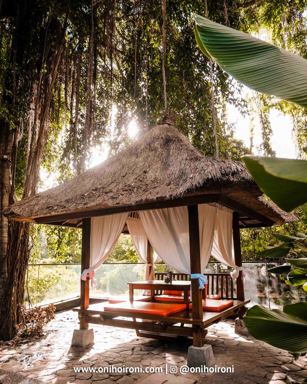 5 Sungai Restaurant Sthala Ubud Bali Oni Hoironi