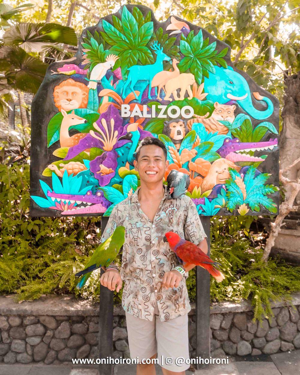 7 Bali Zoo Oni Hoironi Elephant mud fun