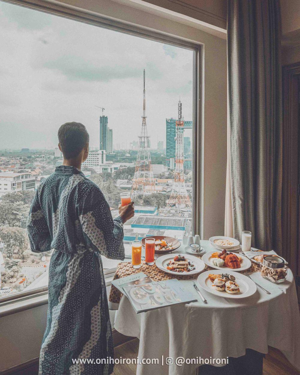 3 Review explore ROOM KAMAR Shangrila Surabaya Hotel Oni hoironi