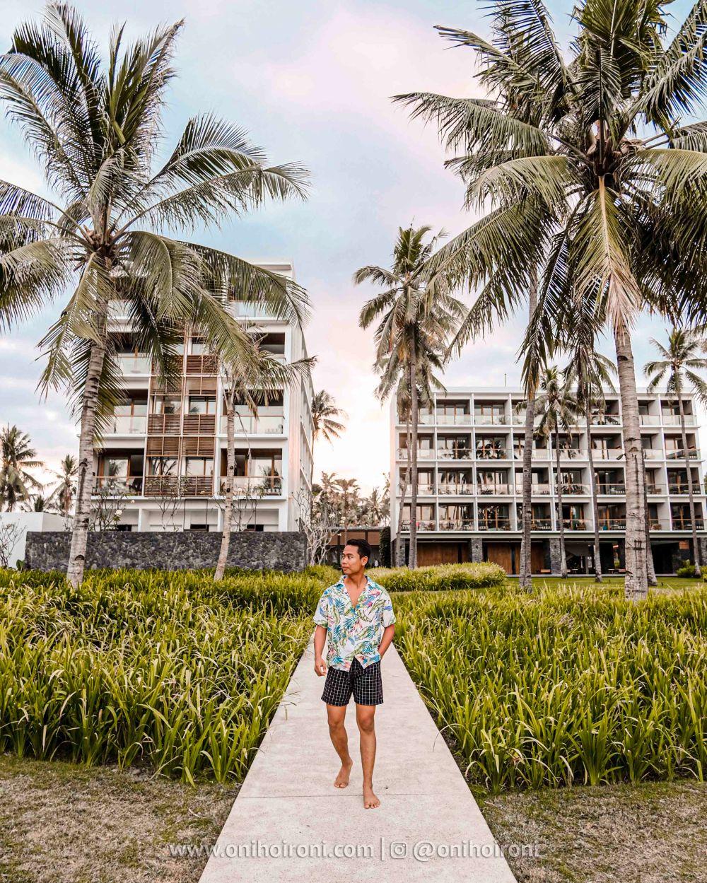 3 Spot instagramable Review Hotel Dialoog Banyuwangi oni hoironi