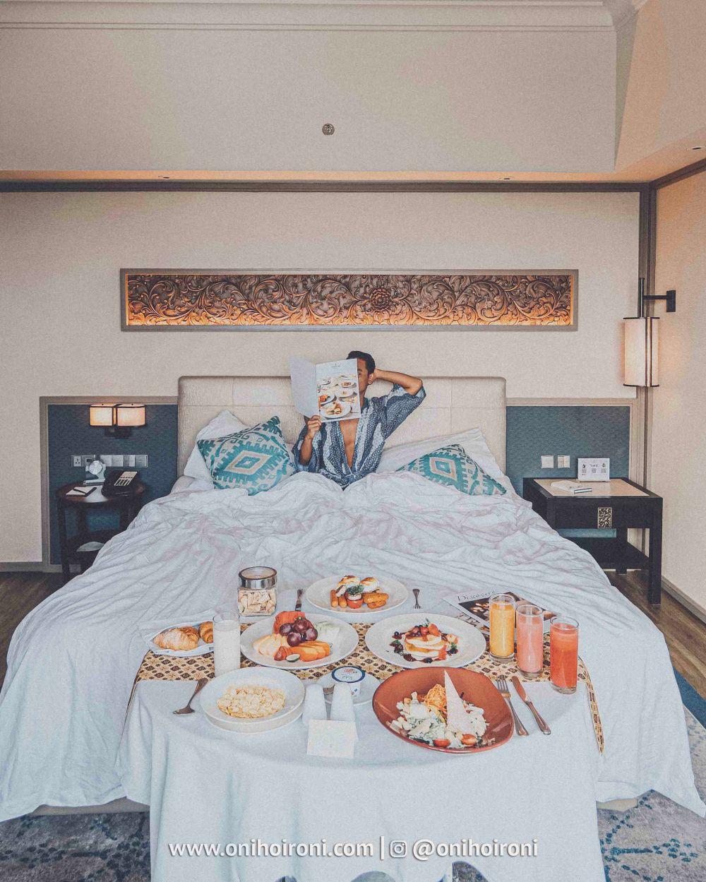 7 Review explore ROOM KAMAR Shangrila Surabaya Hotel Oni hoironi