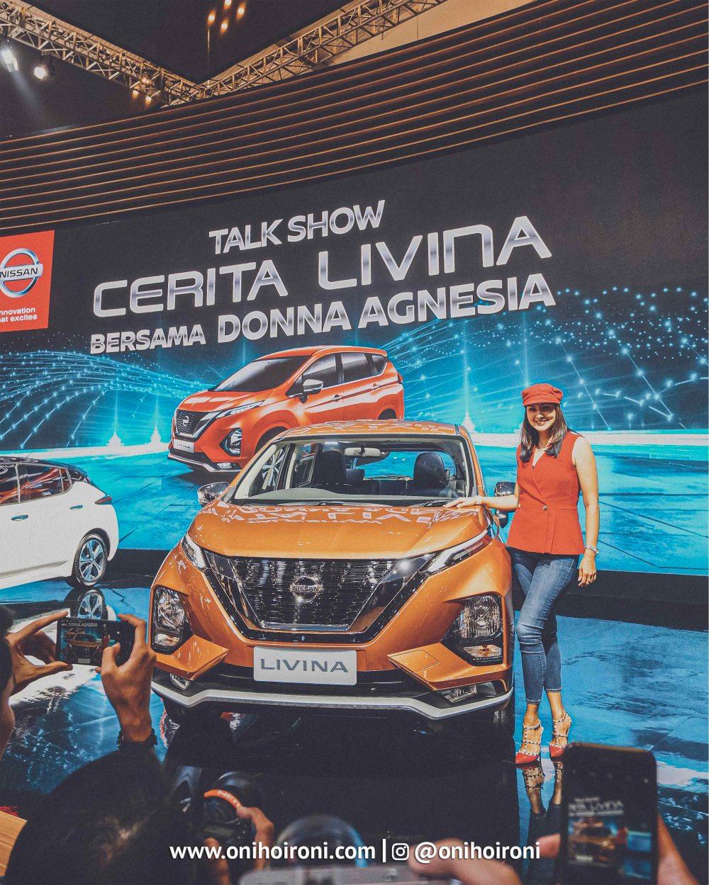 ALL-NEW Livina Talkshow with donna agnesia di GIIAS 2019.jpg