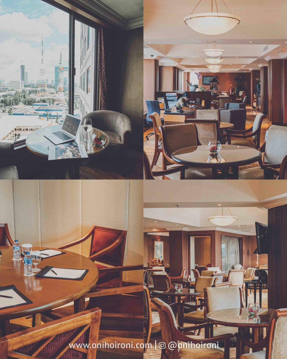 1 Review Horizon Club Lounge Shangrila Surabaya Hotel Oni hoironi