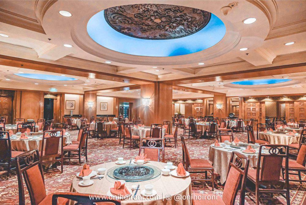 1 Review shang palace restaurant Shangrila Surabaya Hotel Oni hoironi